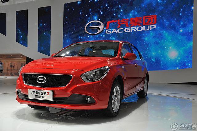 广汽传祺GA3新车型售9.08万元