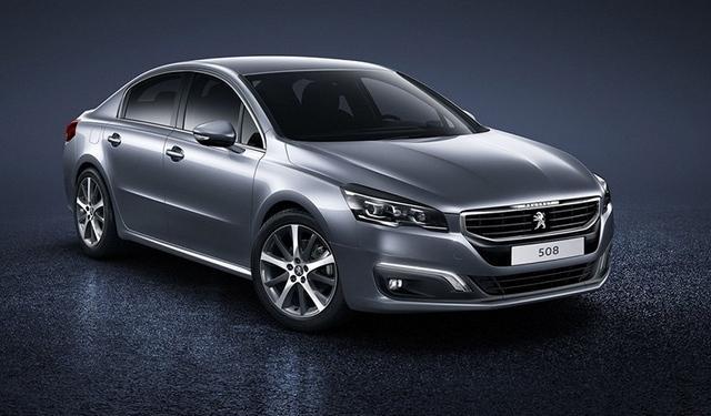国产改款标致508广州车展亮相 明年1月上市