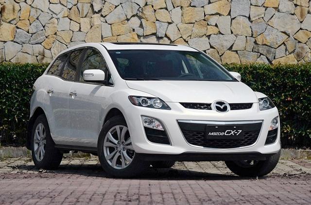 国产马自达CX-7今日上市 预售19.98万元起