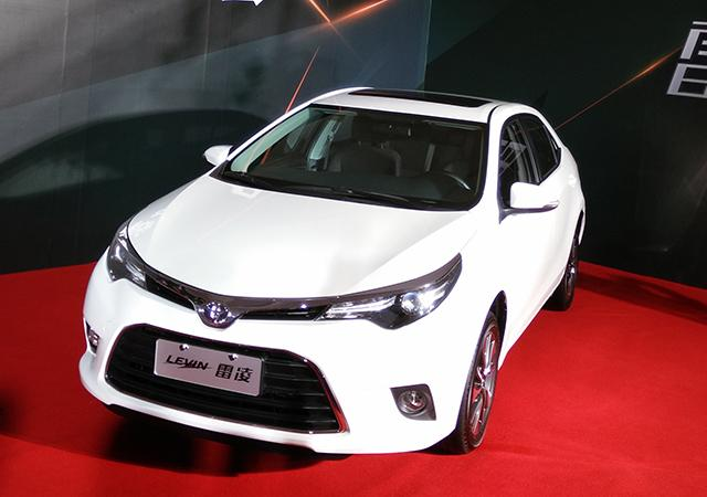 广汽丰田雷凌上市 售10.78万-15.98万元