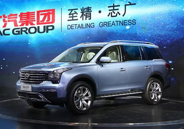 传祺GS8将9月上市 曝广汽传祺产品规划