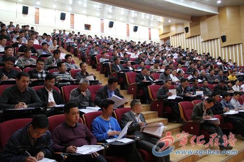 宁化300余名村官参加群众路线教育培训