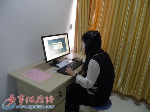 """三明工贸学校普通话测试首次采用""""机测"""""""
