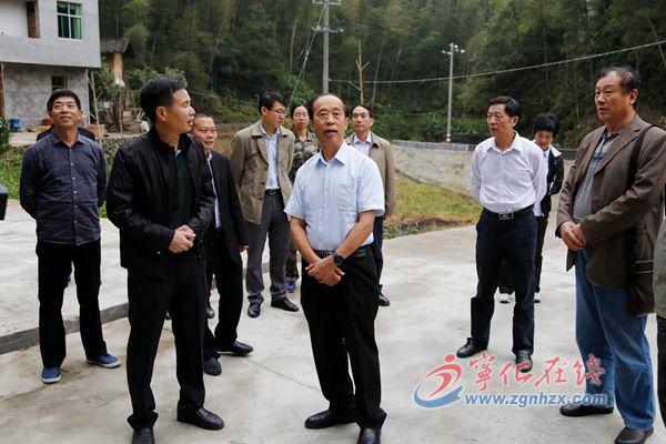 省政协常委、民宗委主任杨志英来宁化调研
