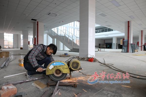 宁化新建县委党校一期项目竣工