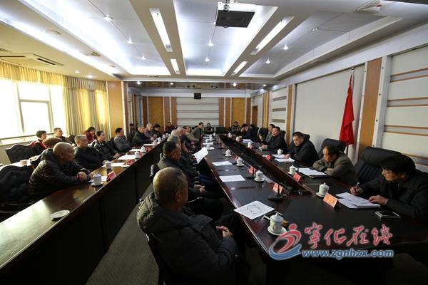 县领导与老干部们共话宁化发展