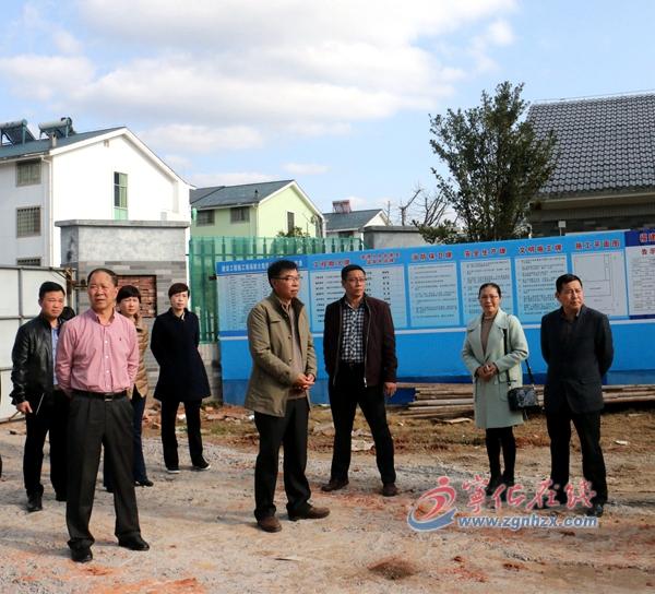 李平生带队调研城区教育新建项目工作