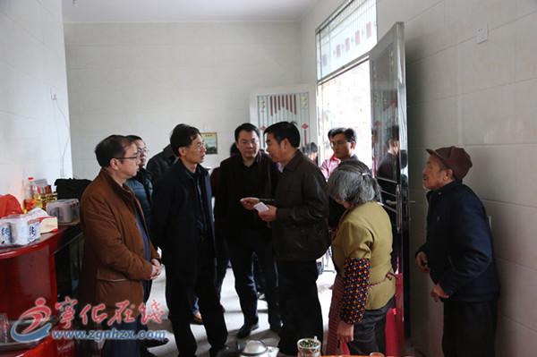 市财政局局长邓永辉到治平畲族乡调研