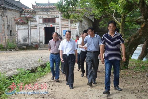 长汀县委书记廖深洪率团来宁化考察