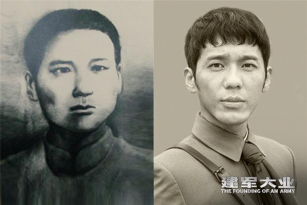 """《建军大业》传承精神 青年演员为角色""""时刻战斗"""""""