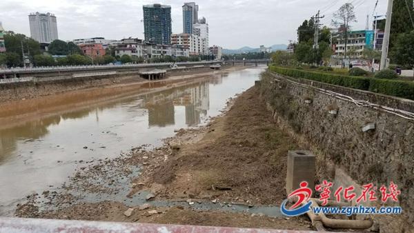 宁化县城区河段旧貌换新颜