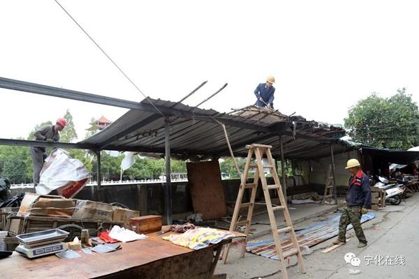 宁化城区南横街改建工程有新进展啦!