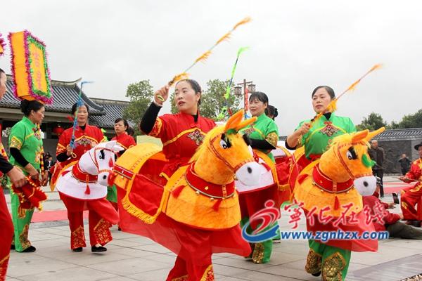 宁化:祭祖民俗表演热闹非凡