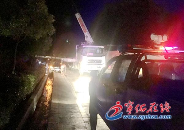宁化:路警联动及时查处路损案件