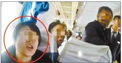 """包头至大连的列车又现""""霸座女"""" 被警方行政拘留"""