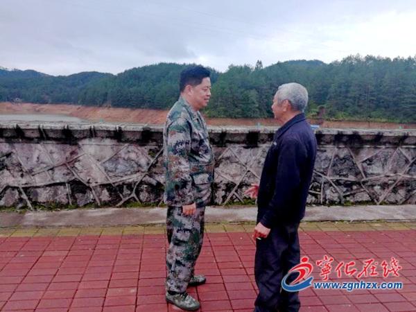 宁化县委副书记林大茂到城郊乡调研