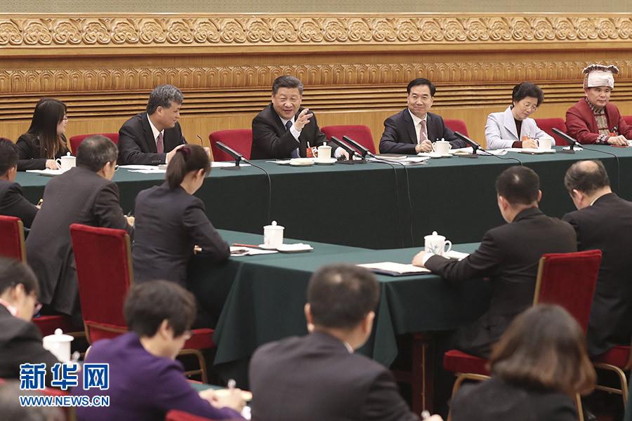 """习近平两会""""典""""亮新时代"""