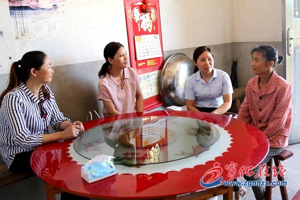 艾迪科食品有限公司为宁化5位母亲献爱心