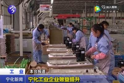 宁化工业企业效益提升