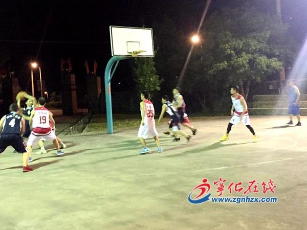 宁化水茜镇第二届篮球邀请赛火热开赛