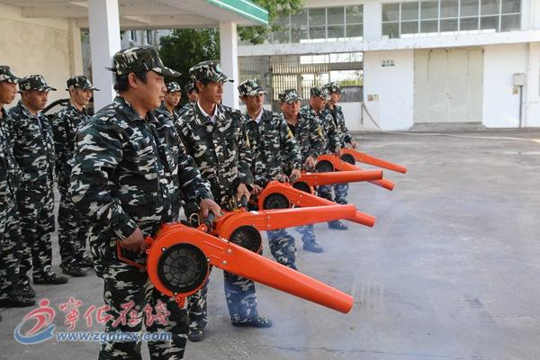 宁化水茜镇打造群众家门口的消防队