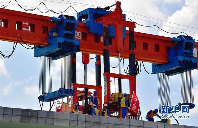 (经济)(1)福平铁路正式进入铺架阶段