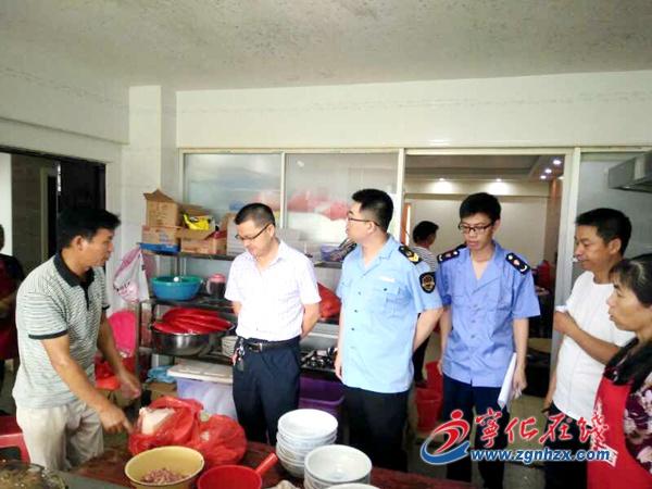 宁化安远镇开展食品安全专项检查