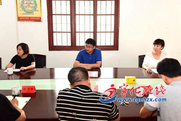 组织部长钱锋看望慰问省特级教师