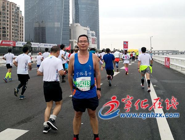 宁化21名运动员征战厦门马拉松赛