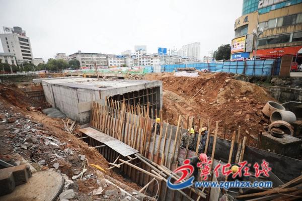宁化县南横街道路景观改造项目春节前有望通车