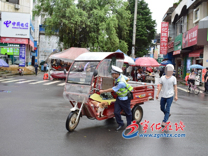 寧(ning)化:網格化管理(li)交通秩序
