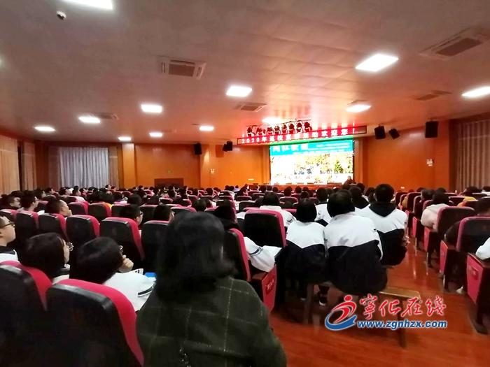 18所(suo)高校50多名學子(zi)回(hui)母校寧化一(yi)中xing) width=