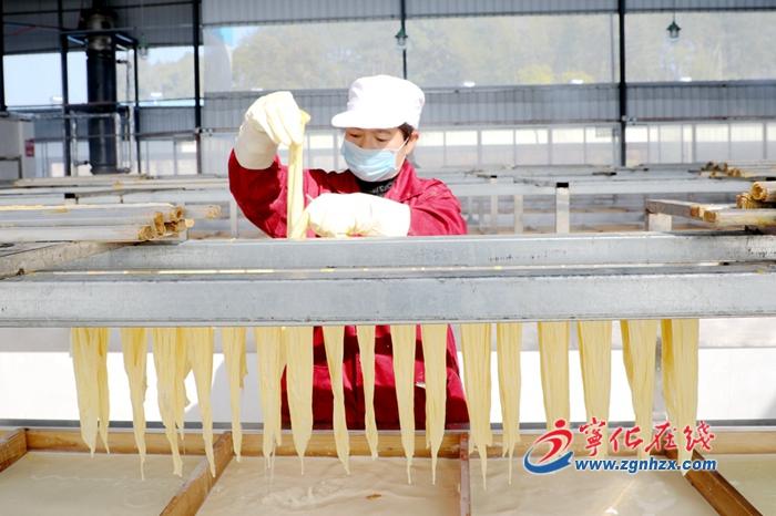 寧化(hua)︰腐竹加工助農增收