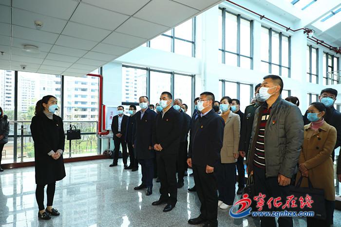 寧化縣廉(lian)政教(jiao)育警示館(guan)正式開館(guan)