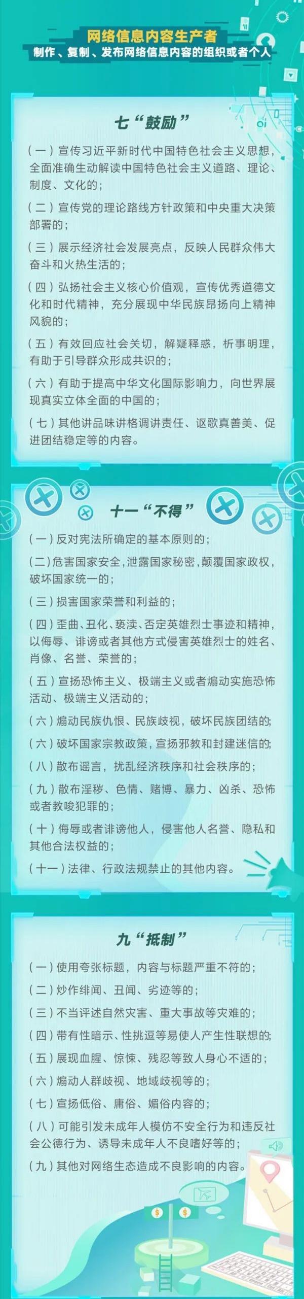 讀懂《網絡信息內容(rong)生態治(zhi)wei)砉gui)定》fen) 唬耗諶rong)生產(chan)者(zhe)篇