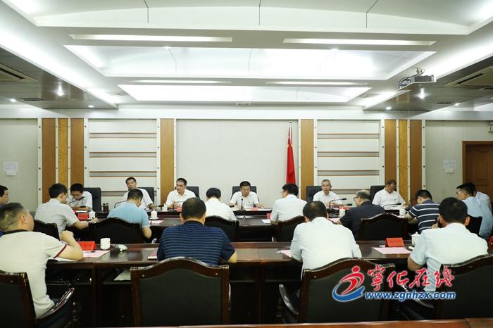 中央和省直單位來寧掛職干(gan)部座談會(hui)召開