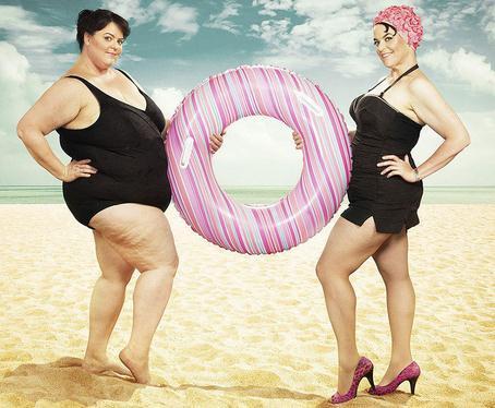 喜感摄影:我与减肥前的自己
