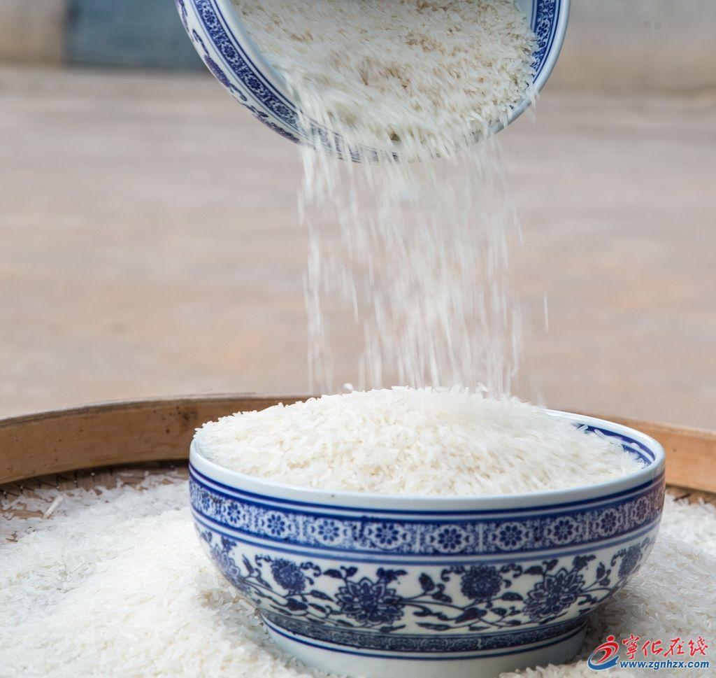 昔日御用米 今朝国宴粮
