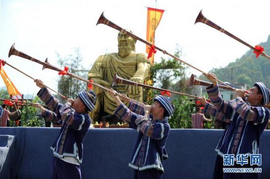 """贵州望谟""""三月三""""布依族文化节开幕"""