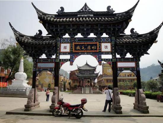 水磨(mo)古鎮(zhen)