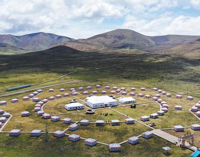 旅游村 帳篷城